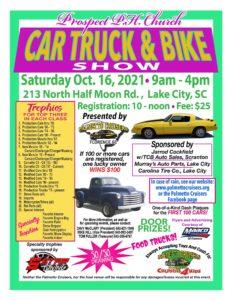 Prospect PH Church - Car, Truck and Bike Show @ Prospect PH Church