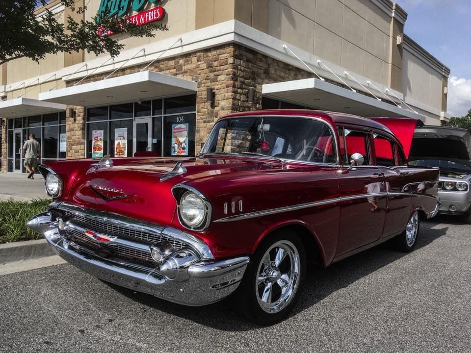 Davy's 1957 Chevy 210 From the beginning to the present!